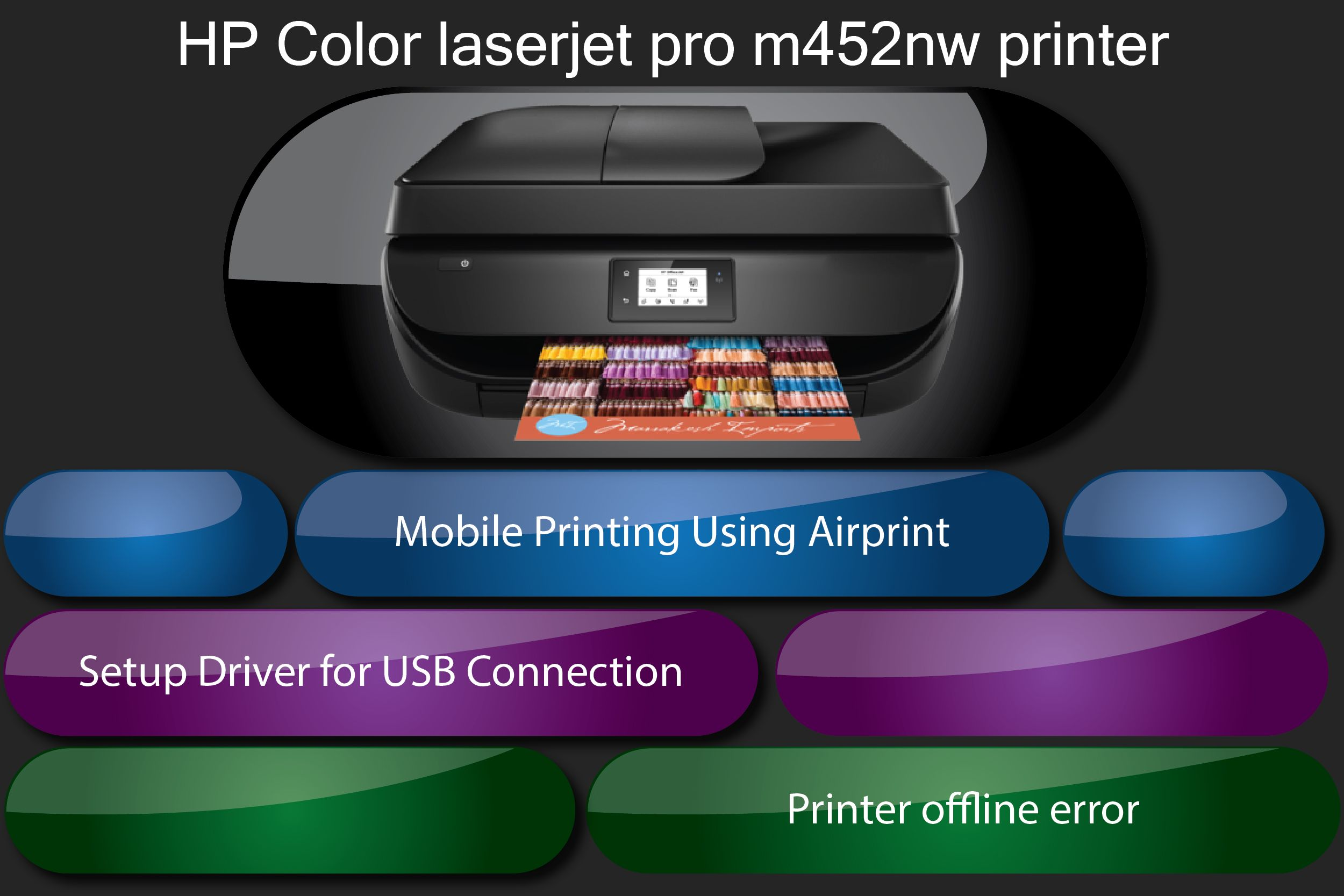 Are you facing printer offline error or any common error issues? we