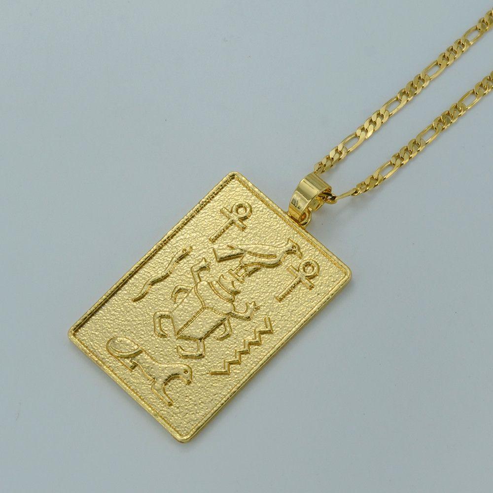 Egyptian hieroglyphics necklaces ankh cross pendant jewels egyptian hieroglyphics necklaces ankh cross pendant aloadofball Image collections