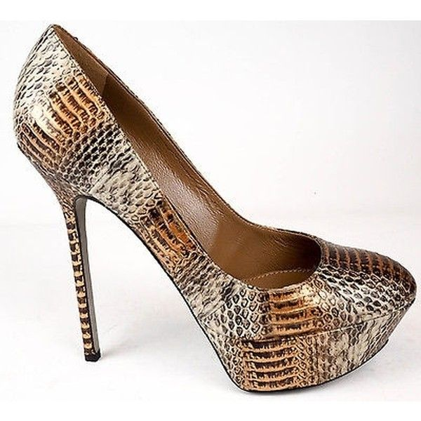 Pre-owned - Python heels Sergio Rossi pnNUfz
