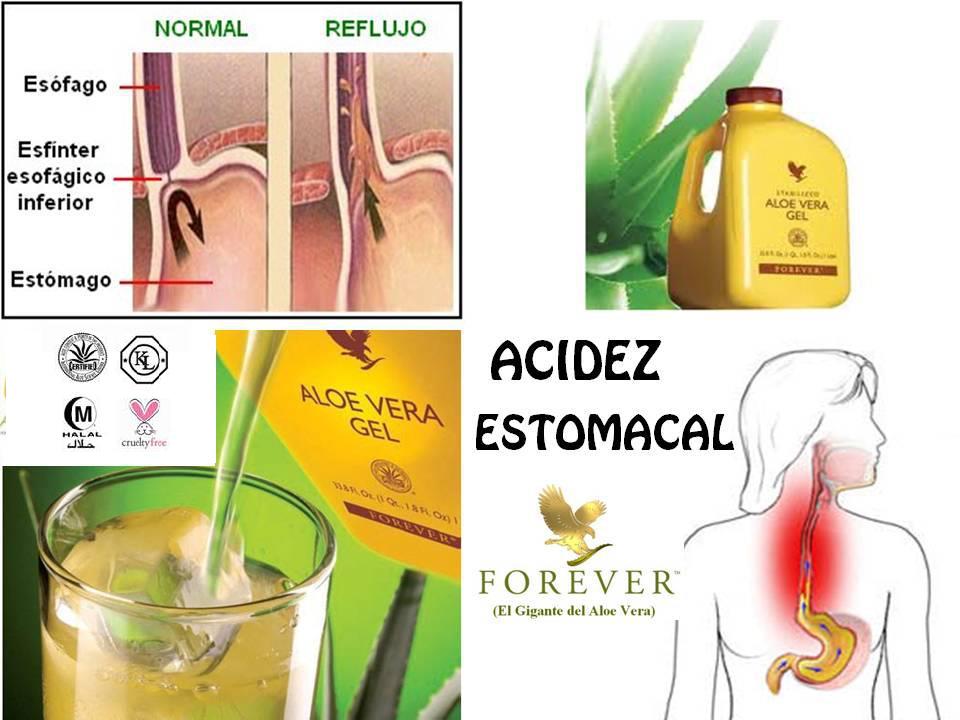 forever living aloe vera gel for gastritis