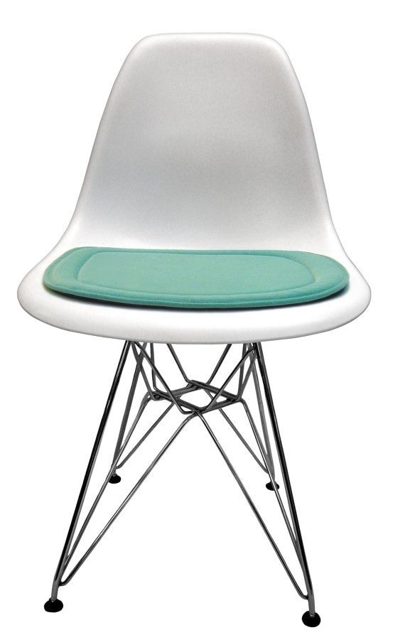 Custom Cushion For Eames Molded Plastic Side Chair Miracle Fabric On Etsy 70 26 Aud