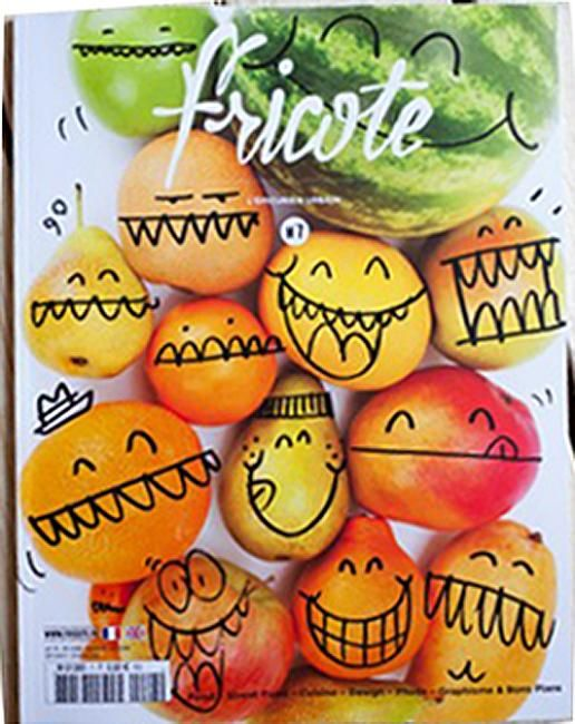 over Fricote magazine: by Kevin Lyons