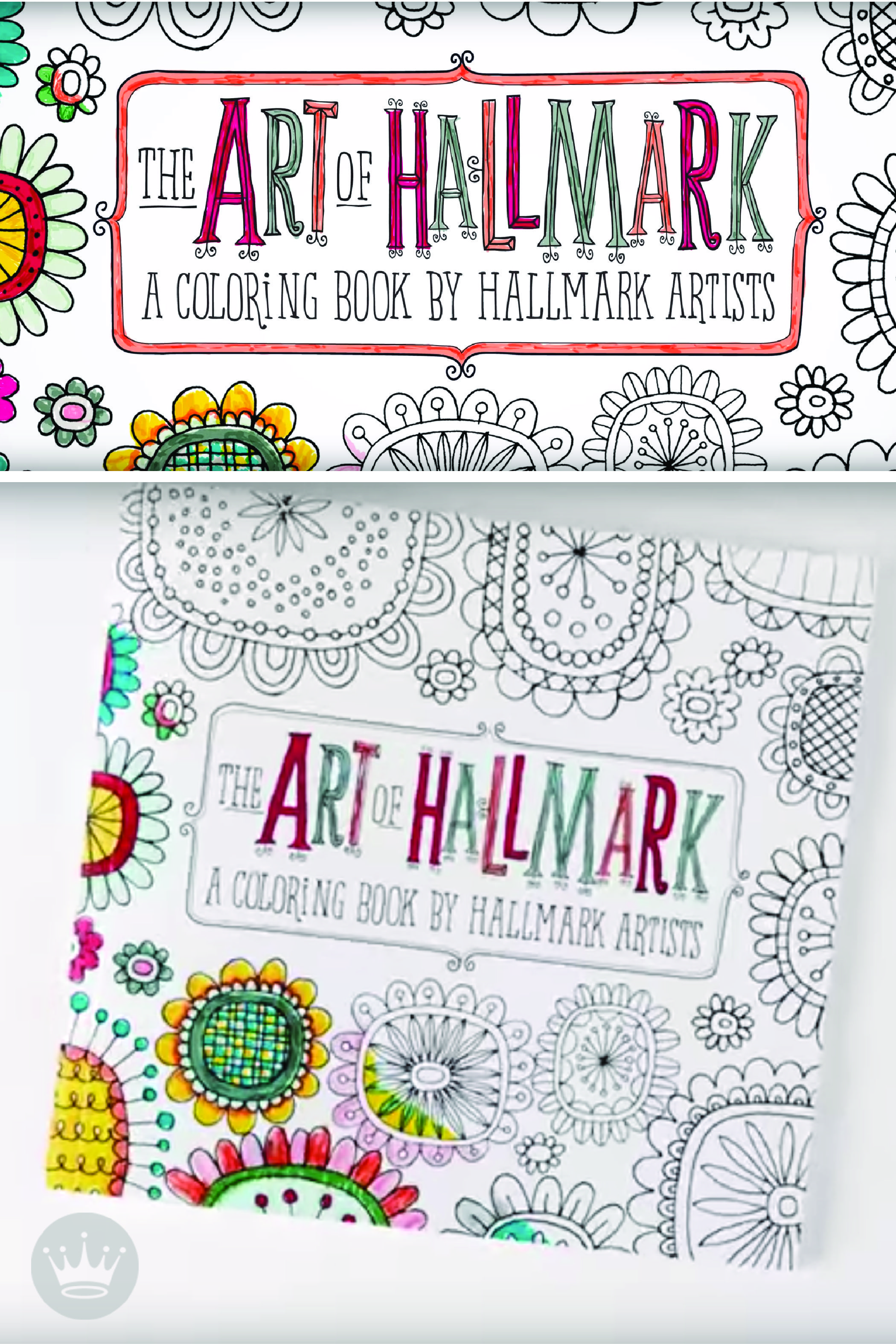 Hallmark Artists Intricate Line Drawings Help You Bring These Adult Coloring Books To Life With