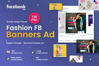 Thumbnail For Fashion Facebook Ad Banners