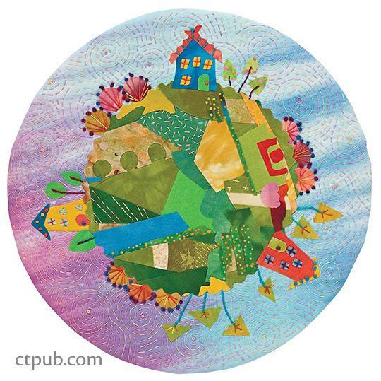 Fanciful Stitches Colorful Quilts  - Laura Wasilowski