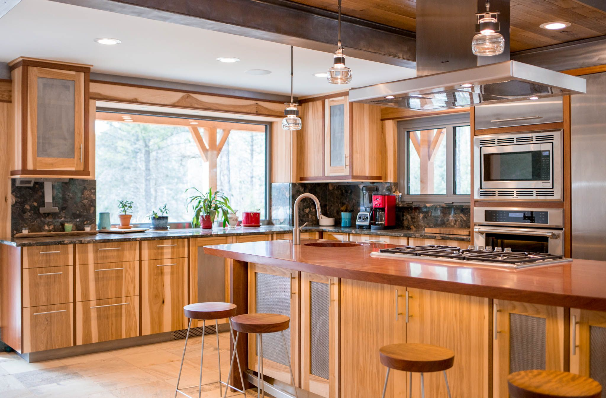 Grant Creek Residence Addition And Kitchen Remodel With