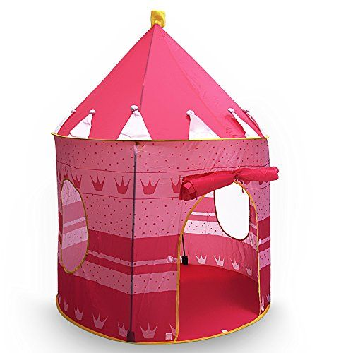 Princess Castle Play Tent Portable Folding Girlu0027s Pop Up Playhouse Castle Fairy Tale Cubby Child Kids House Pink for Indoor Outdoor Home Room Decoru2026  sc 1 st  Pinterest & Princess Castle Play Tent Portable Folding Girlu0027s Pop Up Playhouse ...