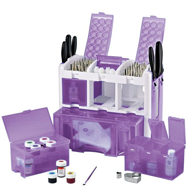 Cake Decorating Tool Box Ultimate Tool Caddy  Baking Must Haves  Pinterest  Tools Cakes