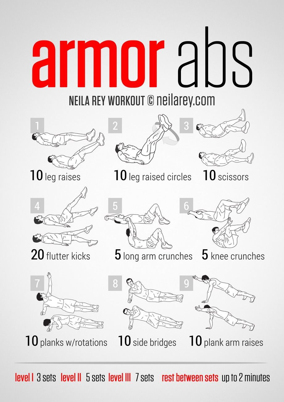 Armor Abs Workout Neilarey Fitness Bodyweight