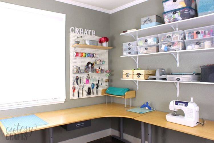 Easy Craft Room Ideas With Images Sewing Room Inspiration Craft Room Furniture Diy Craft Room