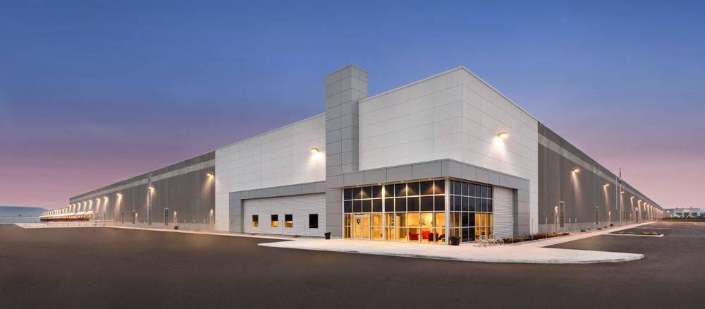 Industrial distribution center designed by our talented ... on