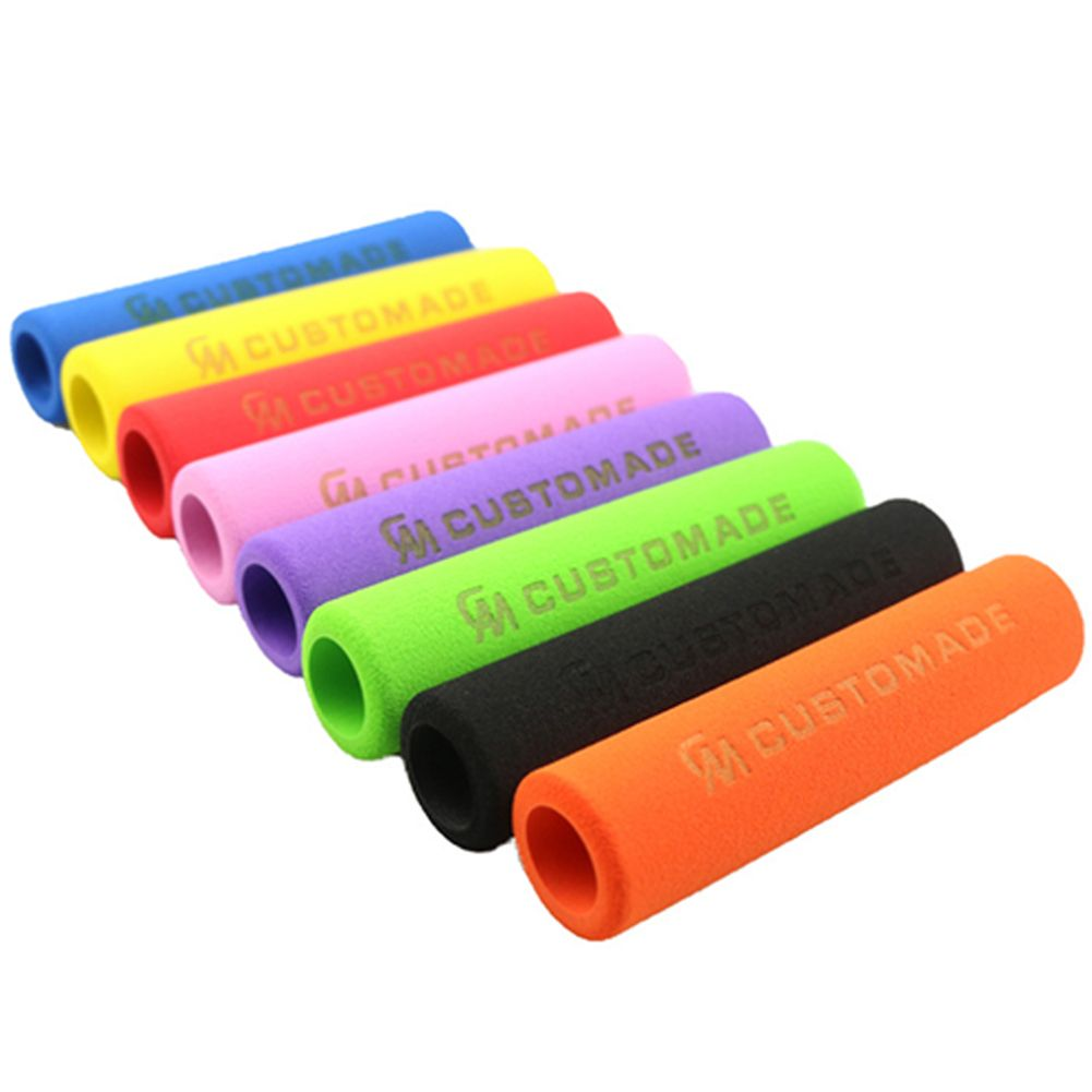 Mountain Bike Color Sponge Handles Silicone Grips Bicycle Accessories UM