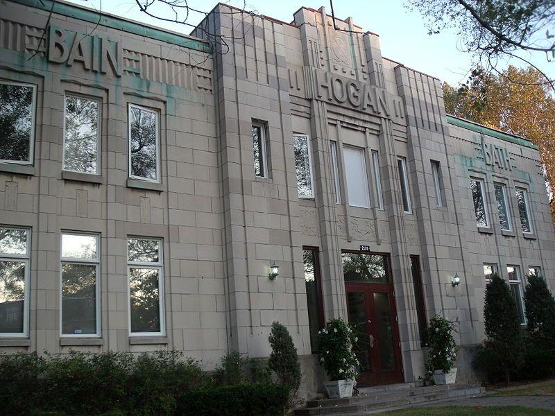 Hogan Bath 2188 Wellington St Montreal Qc H3k Canada Art Deco Architecture Bauhaus Architecture Art Deco Fashion