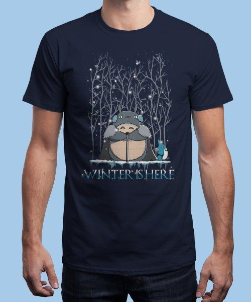 """Winter is here"" is today's £9/€11/$12 tee for 24 hours only on Pin this… 
