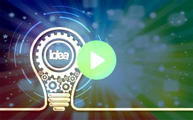 de idea creativa icono de engra  Premium VectorConcepto de idea creativa icono de engra  Premium Vector     Sintonía literaria     Carteles de animación a l...