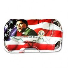 DESIGN Horizontal Pouch DHP07 Apple iPhone Case OBAMA