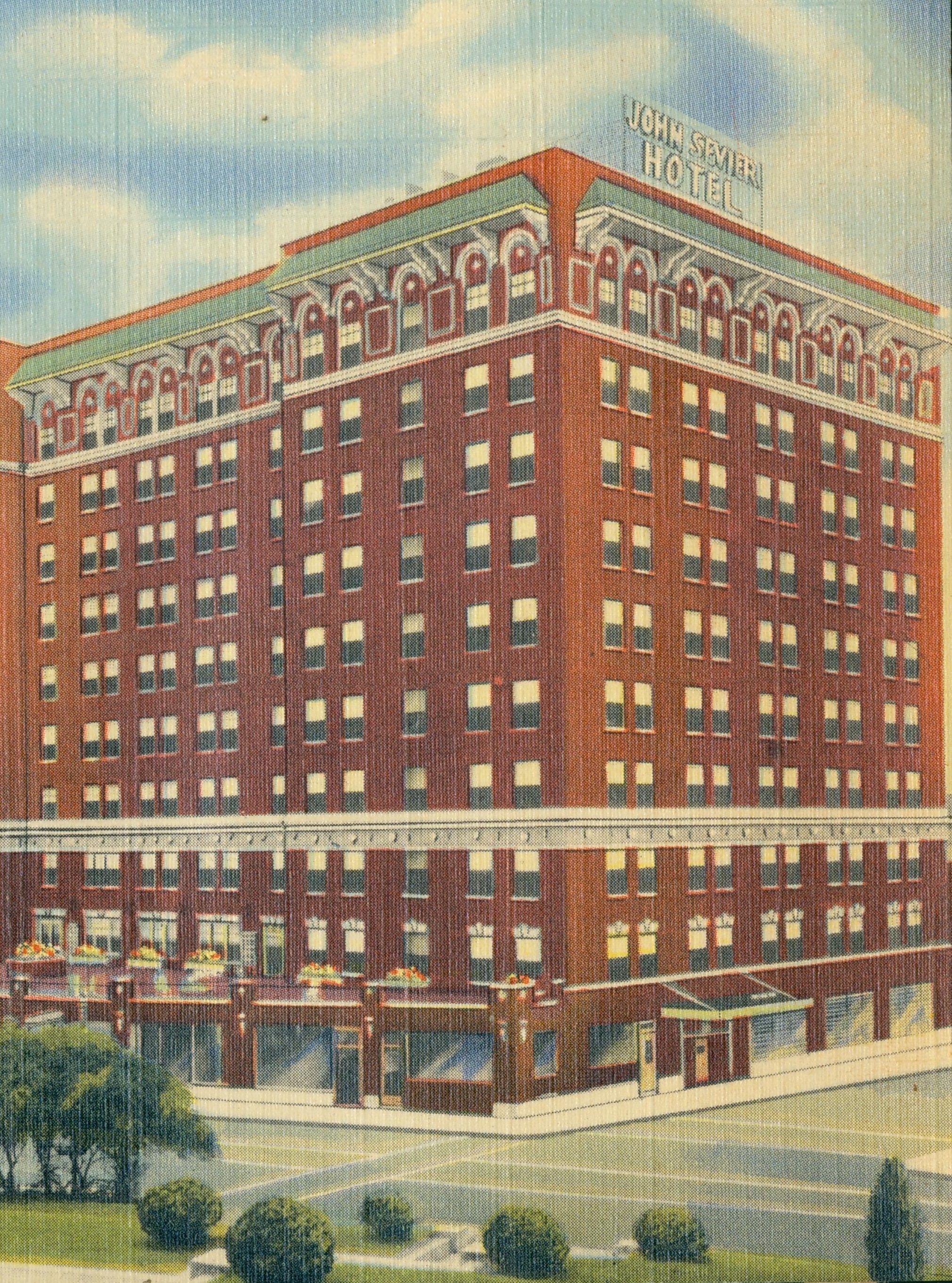 John Sevier Hotel Johnson City Johnson City Tennessee Usa Tri Cities