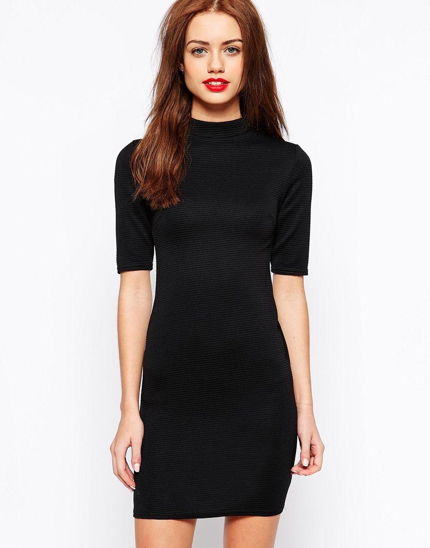 New look turtle neck bodycon dress retail favs pinterest
