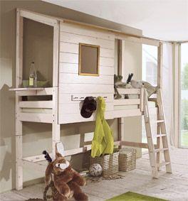 Abenteuerbett selber bauen  Abenteuerbett als Hochbett Kids Paradise für Ihr Kinderzimmer ...