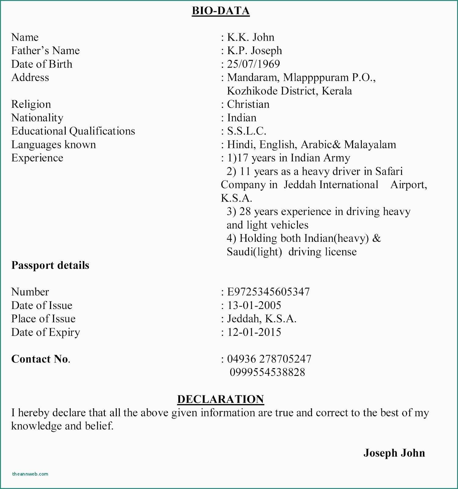 75 Unique Gallery Of Resume Samples No Working Experience Students