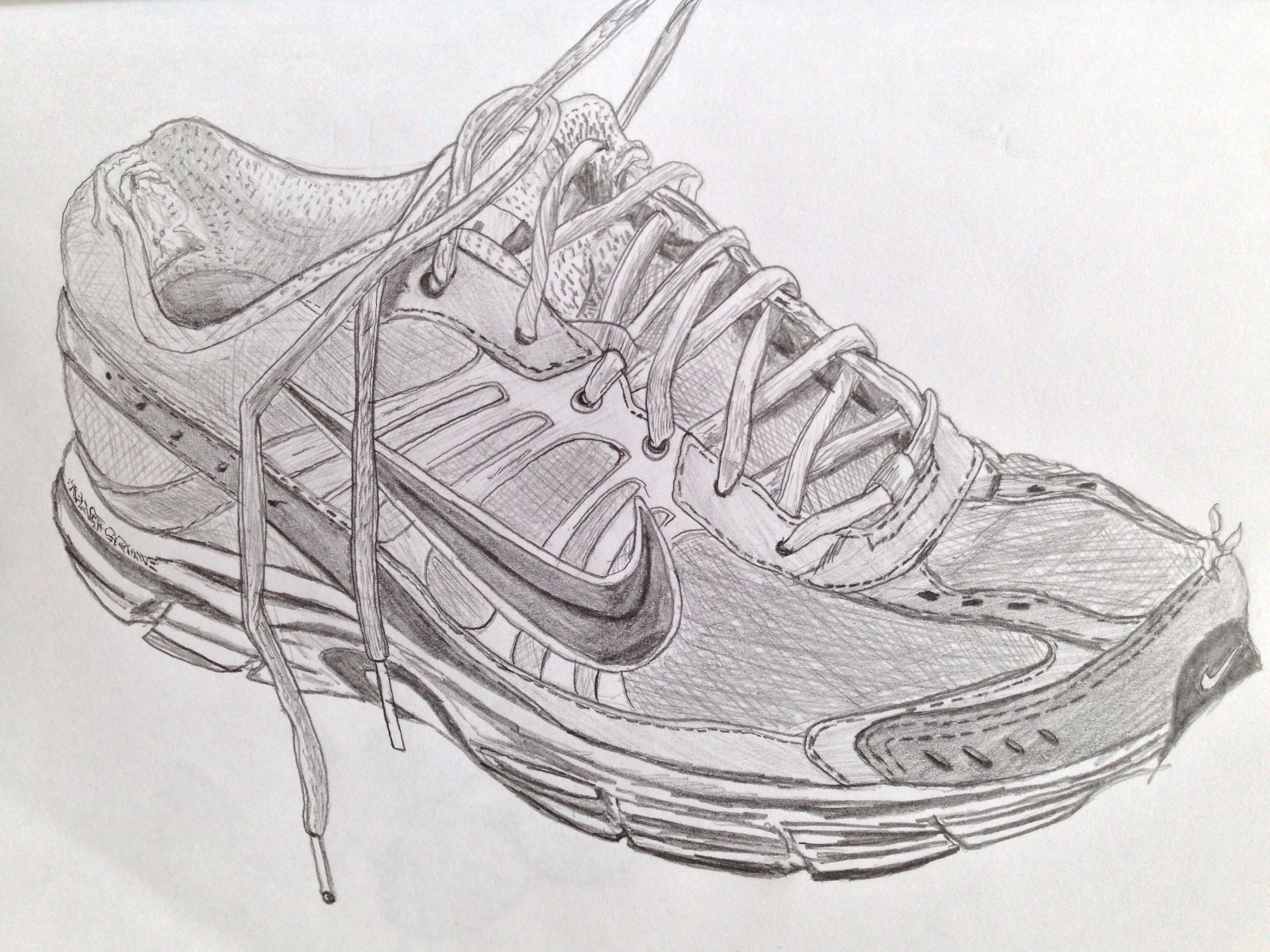 Trainer Sketch · SketchNikeObservational DrawingSearchingTrainersTennis  SneakersCroquisSketch DrawingSearch