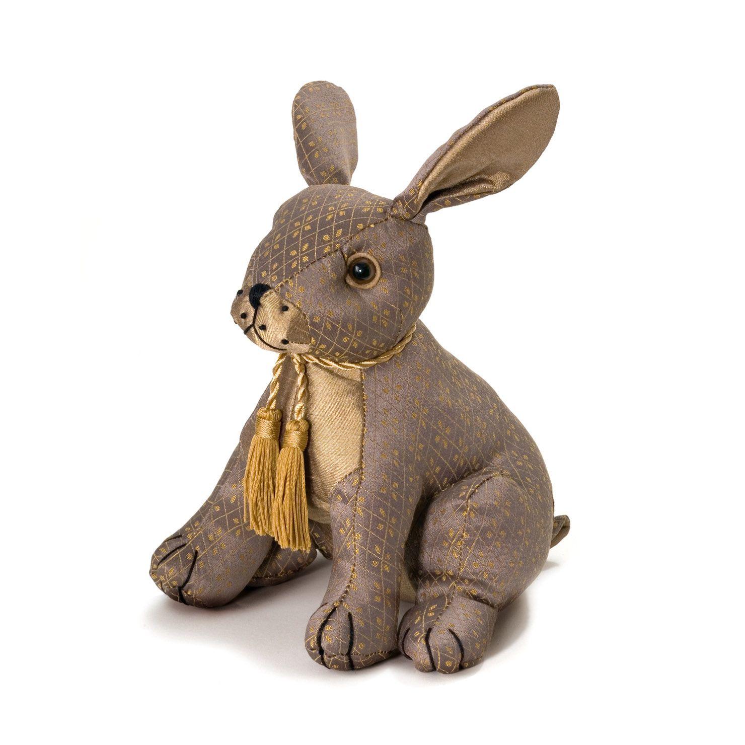 Patchwork Hare Doorstop