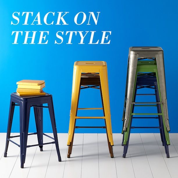 The 25 Best Industrial Bar Stools Ideas On Pinterest