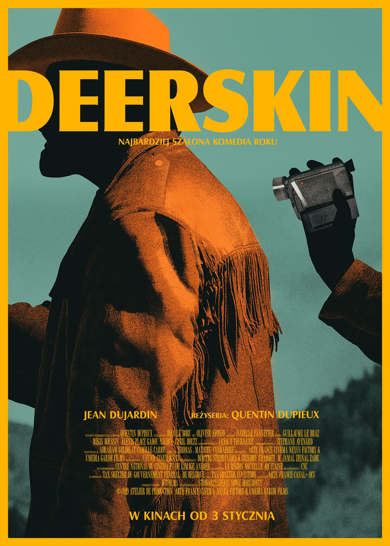 Le Daim Streaming Vf : streaming, Deerskin, Skin,, Movie, Posters, Minimalist,
