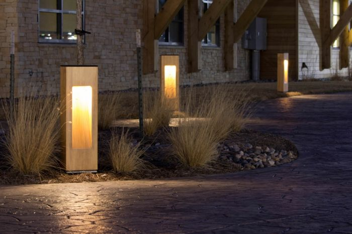 Gartenbeleuchtung Modern gartenbeleuchtung moderne leuchten gartengestaltung gartenlandschaft