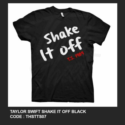 Taylor Swift Shake It Off T-shirt Printed in Gildan Softstyle - t shirt order form