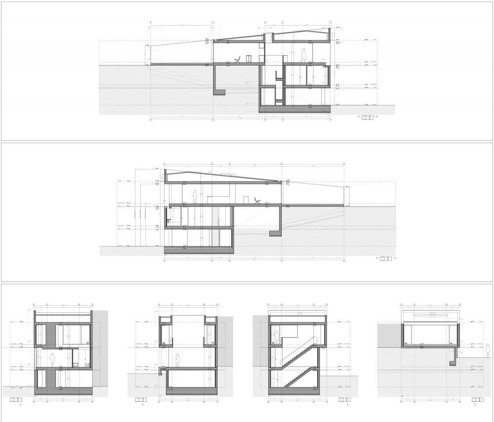 House On The Castle Mountainside Fran Silvestre Arquitectos Castle Pictures Architectural Floor Plans Architecture