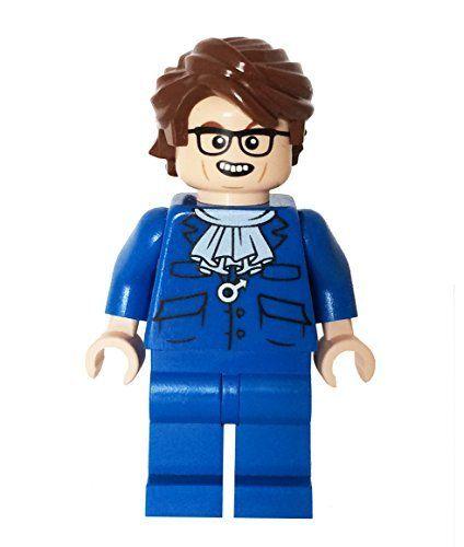 60 S Super Spy Blue Minibigs Custom Lego Minifigure Http Www Amazon Com Dp B00n02rz6c Ref Cm Sw R Pi Awdm Lego Custom Minifigures Lego Minifigures Lego