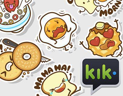 The Breakfast Club Stickers for Kik Messenger