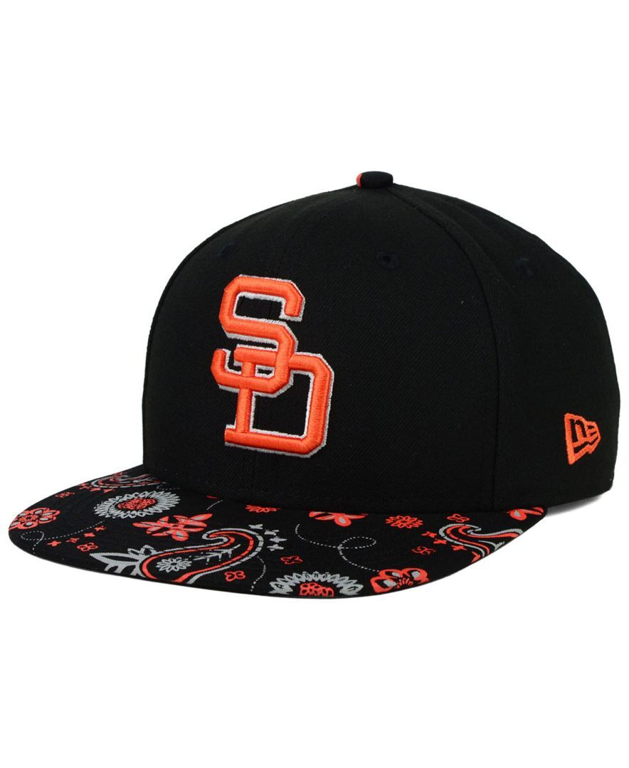 New Era San Diego Padres Paisley Time 9FIFTY Snapback Cap