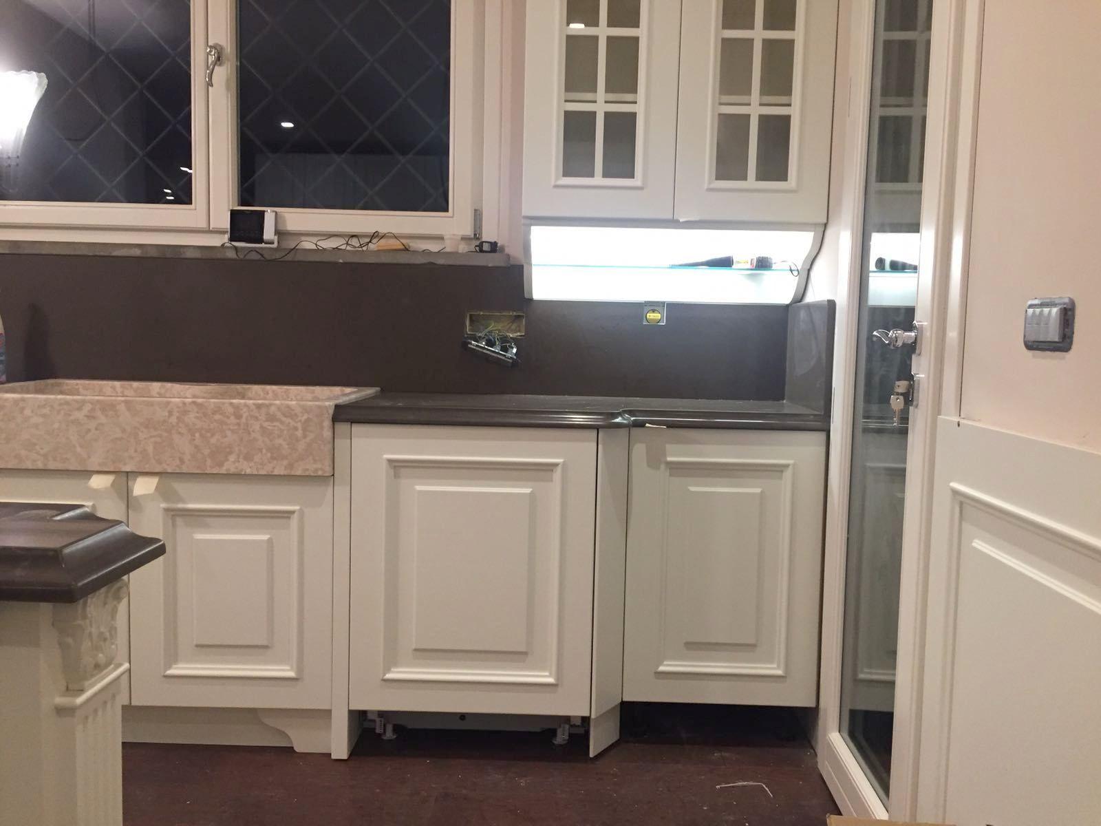 Legno Laccato Su Misura cucine su misura classiche in legno laccato