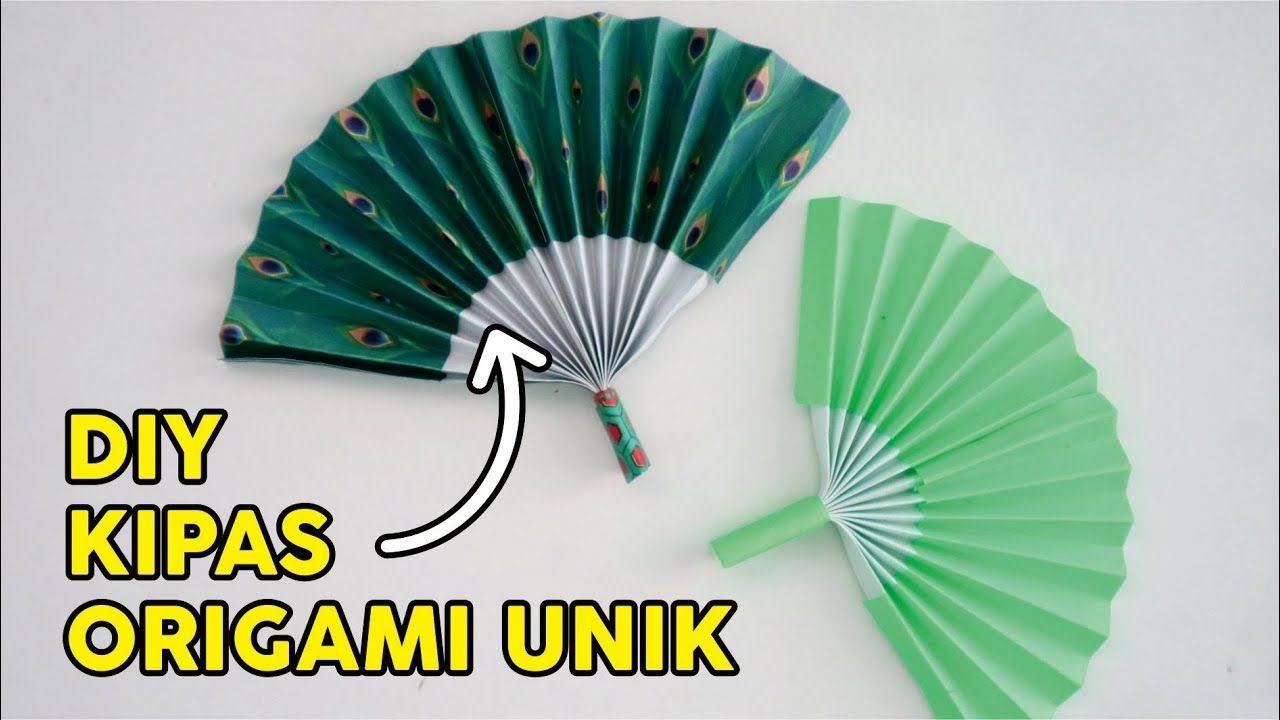 Cara Membuat Kipas Portable Mudah How To Fold Pocket Folding Fan Easy Origami Kipas