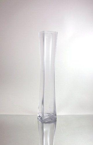 4 X 28 Clear Glass Cylinder Vase Bulk Case Of 6 19 83 Per Vase