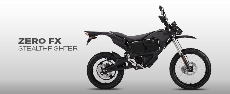 Zero Fx Electric Motorcycle 11 000 Electric Motorcycle