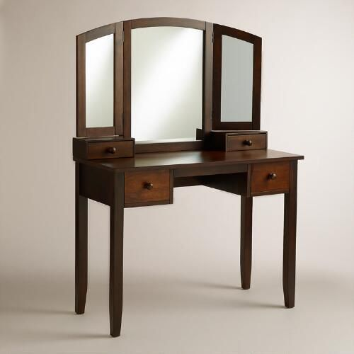 Willow Vanity Table | World Market Did You Get One Already? This Ones In  Their
