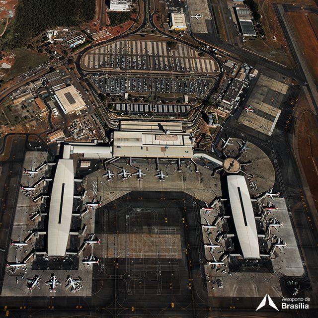 Aeroporto Internacional de Brasília / Presidente Juscelino Kubitschek (BSB) em Brasília, DF