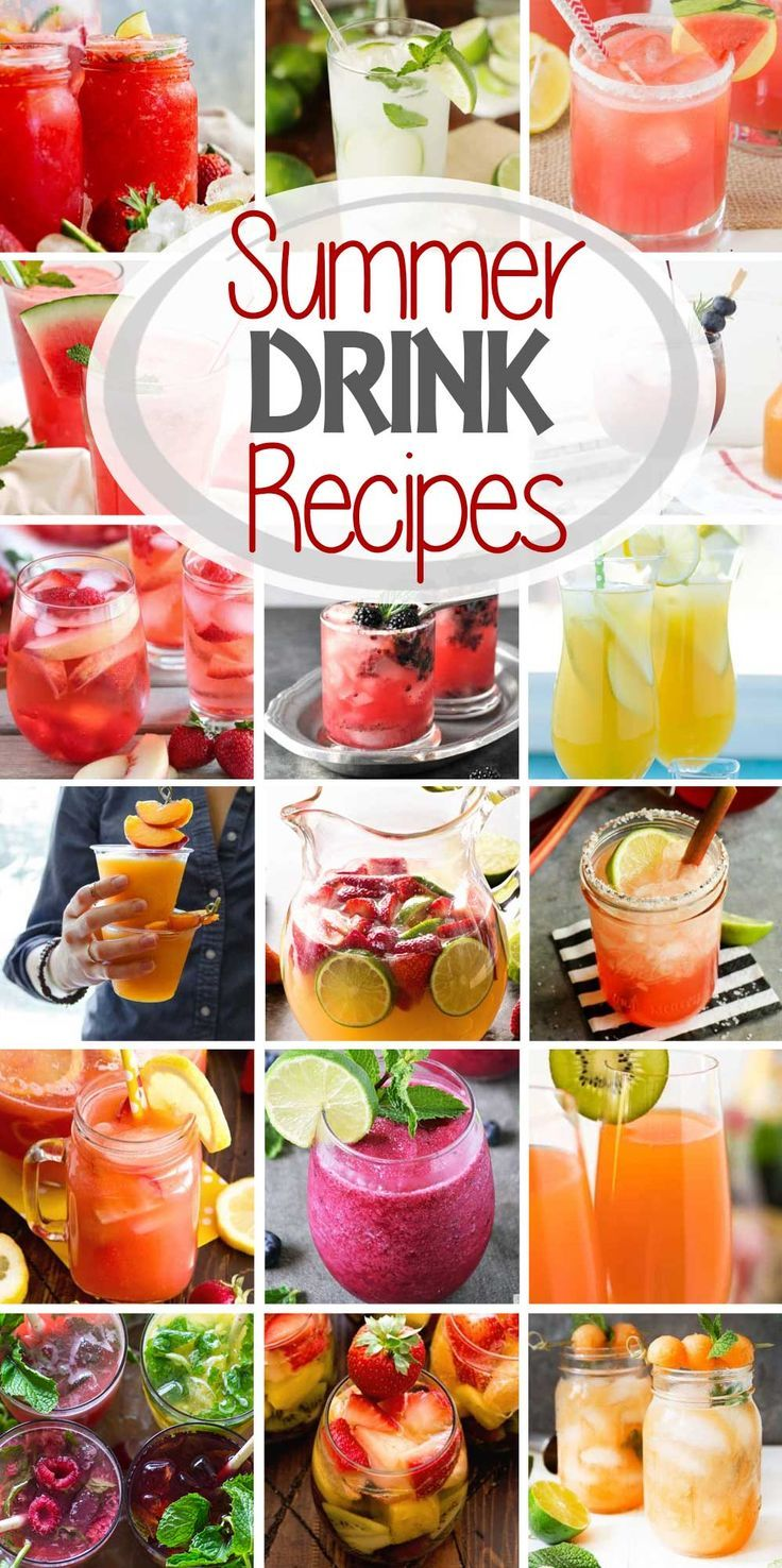 These are the BEST Alcoholic Summer Drink Recipes!