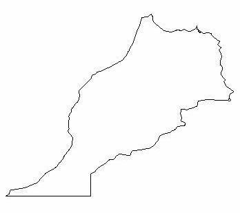 Image Result For Morocco Country Outline Tattoo Ideas - Country outlines