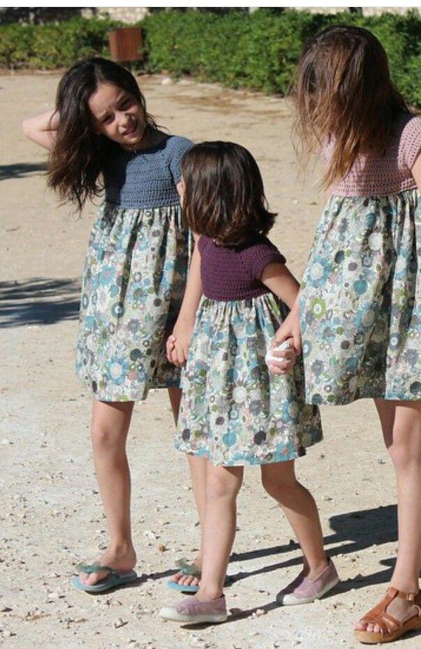 Ideias para aproveitar vestidos pequenos Crochet Pinterest