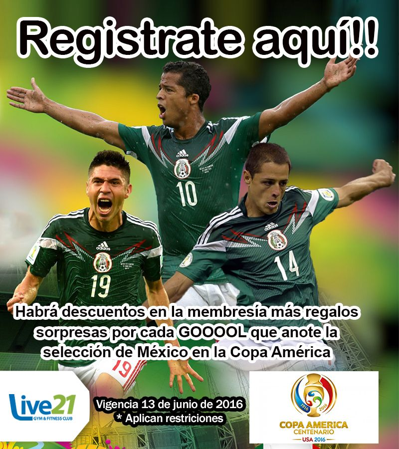 Registrate al Concurso Exclusivo para REDES SOCIALES #RetoLive21 #LIVE21 #GIMNASIO #LIVE21GYM