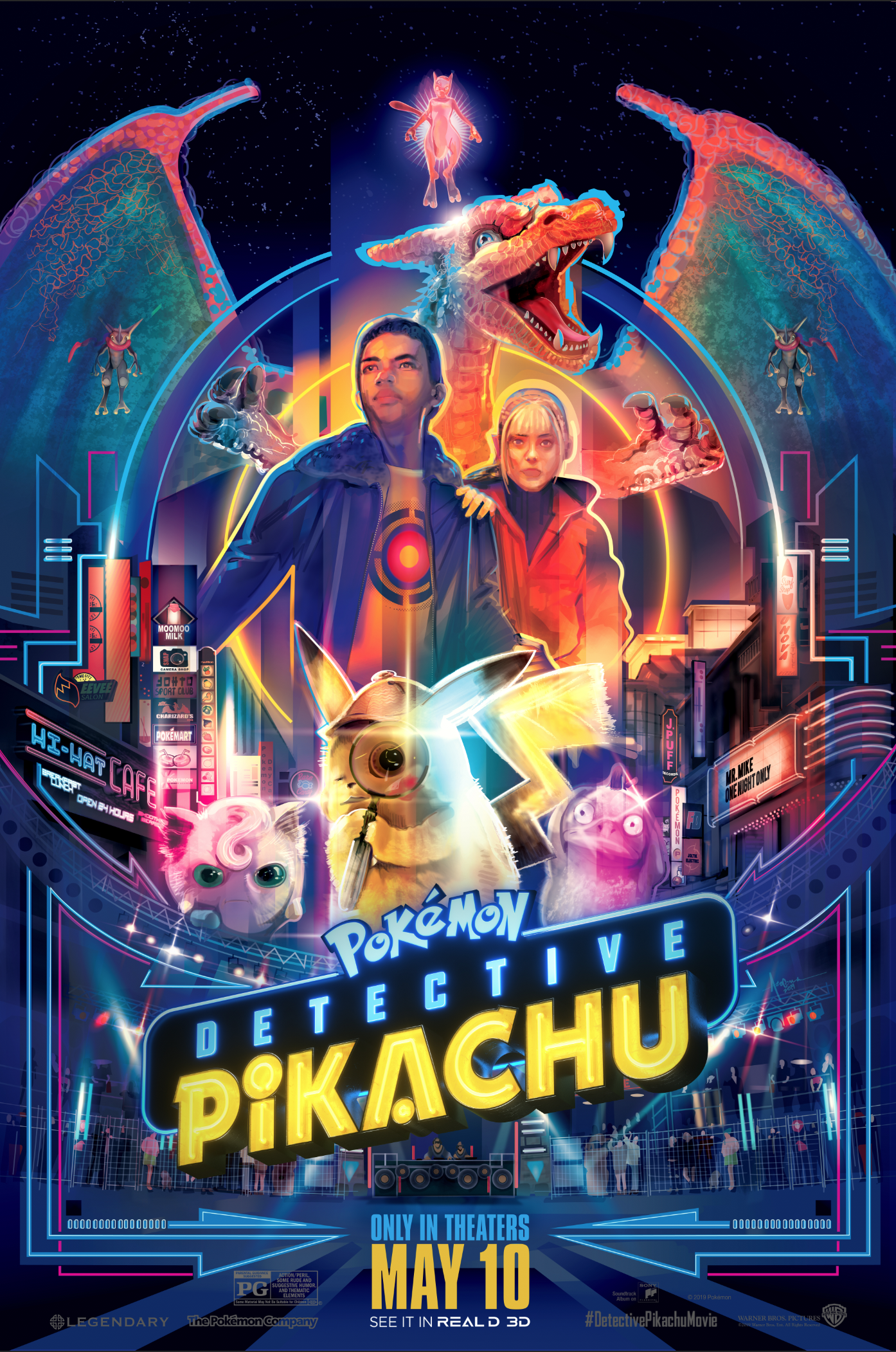 Detective Pikachu Poster Posse Cartazes De Filmes Cartaz Filmes