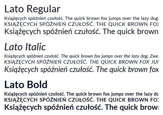 Best Fonts For Flat UI Design | VM Typography | Sans serif typeface