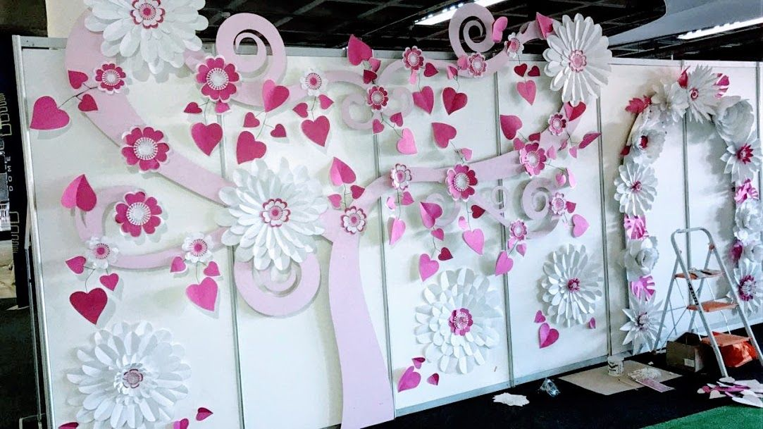 Sale Now On Decorating An Event Paperflowers On A Love Tree