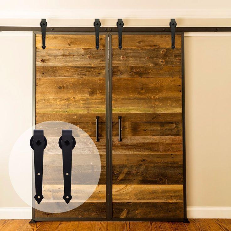 LWZH 10ft / 12.6ft Fittings For Sliding Doors Shed Wooden De…