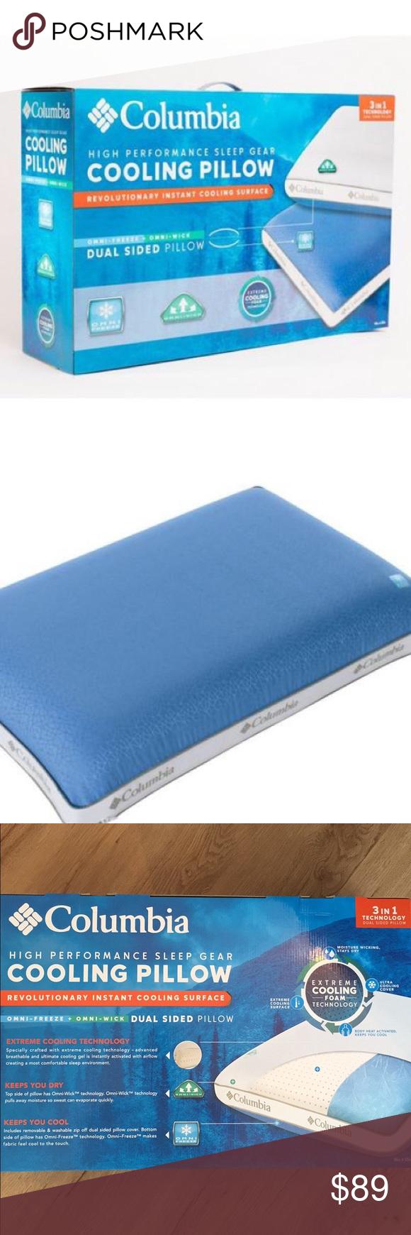 performance cooling pillow queen