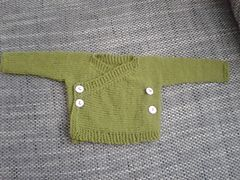 7a7b5cc2704618 Ravelry  Baby Kimono pattern by Elizabeth Jarvis